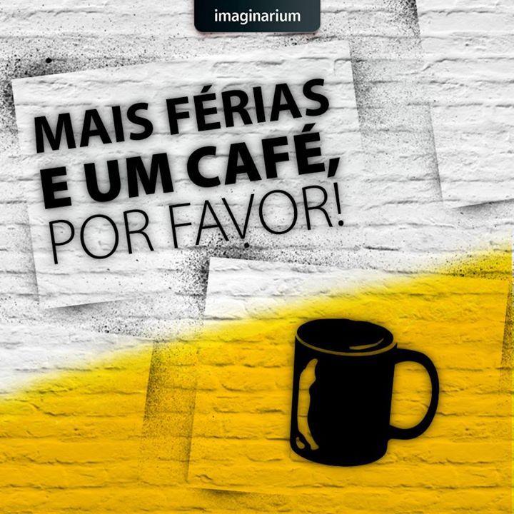 Mais férias e um cafe, por favor #férias #café #bomdia