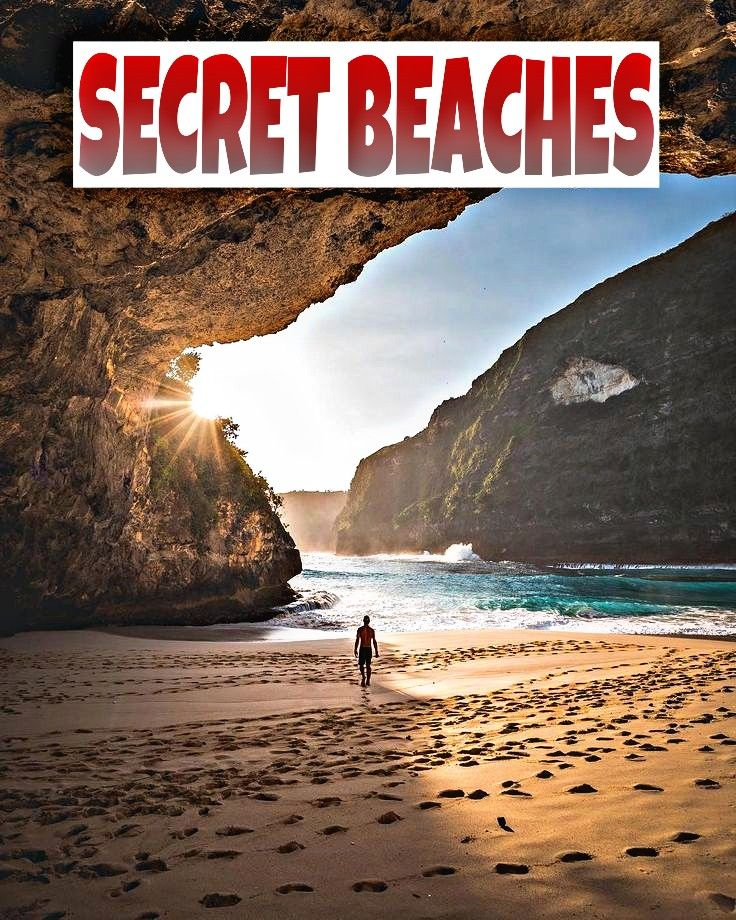 SECRET BEACHES 🌊