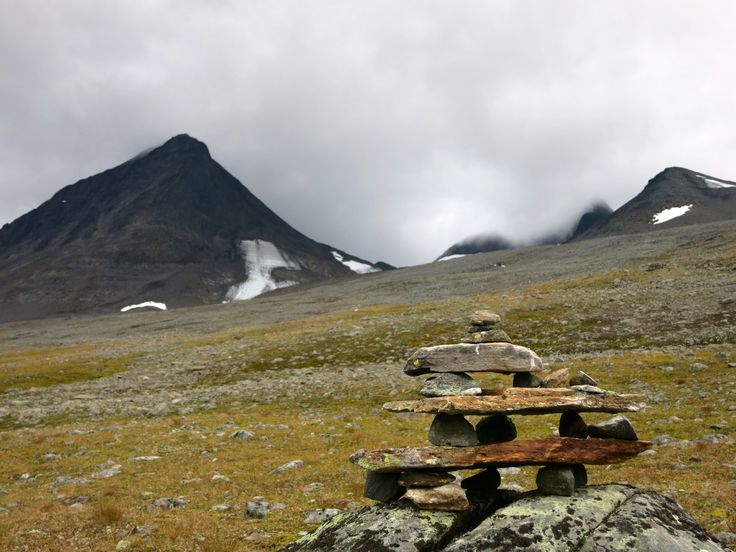 Kungsleden (King's Trail). The road between Nallo to Sälka.