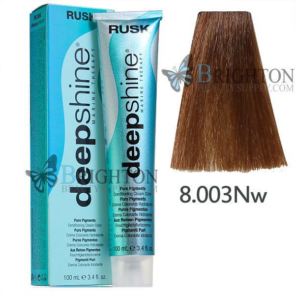 rusk deepshine pigments conditioning color 3 4
