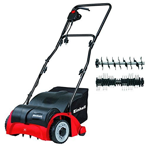 Einhell GC-SA 1231 1200 W Electric Dual Purpose Scarifier and Lawn Rake/Aerator - Red---94.99---