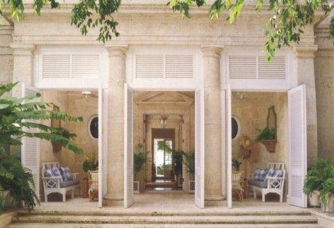 Patio disegno veranda : Pool houses, Doors and Austerity on Pinterest
