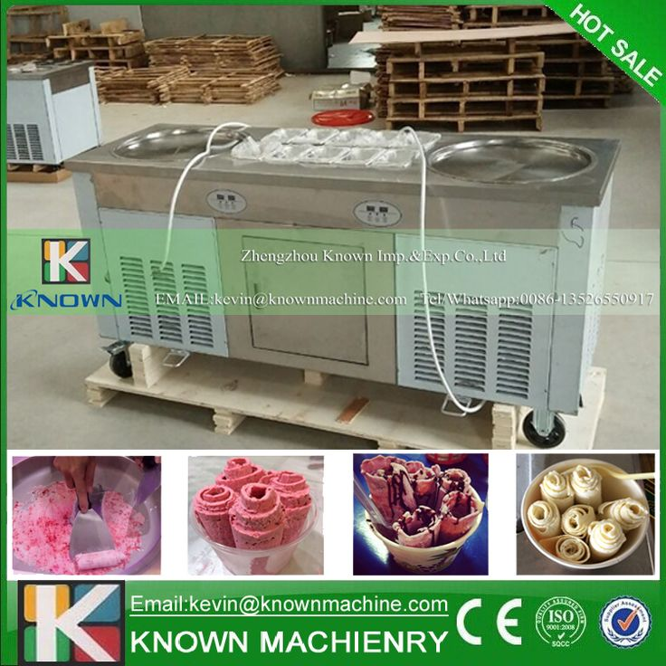 The KN-2+10 fried ice cream roll machine with R404A / R410A Refrigerant //Price: $US $1580.06 & FREE Shipping //     #homeappliance24