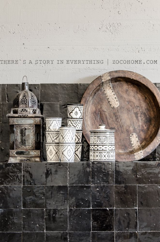 Be inspired by Moroccan Zellige tiles