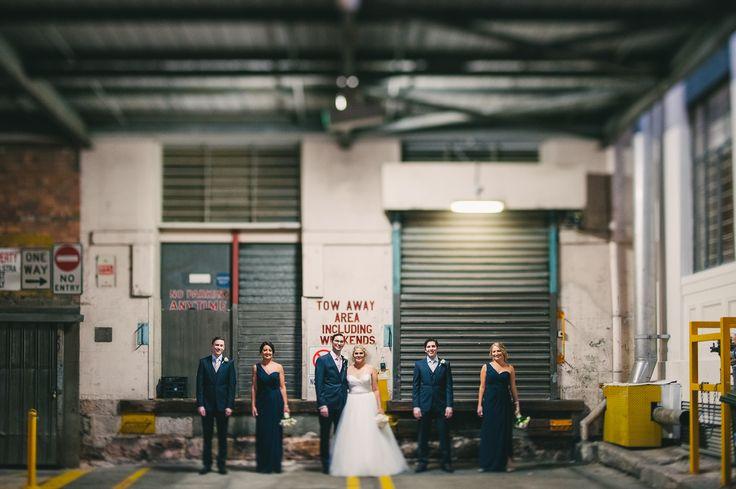 Industrial Wedding Photos