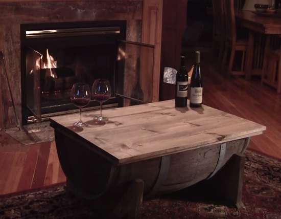 How To Build A Whiskey Barrel Coffee Table - 25+ Best Ideas About Whiskey Barrel Coffee Table On Pinterest