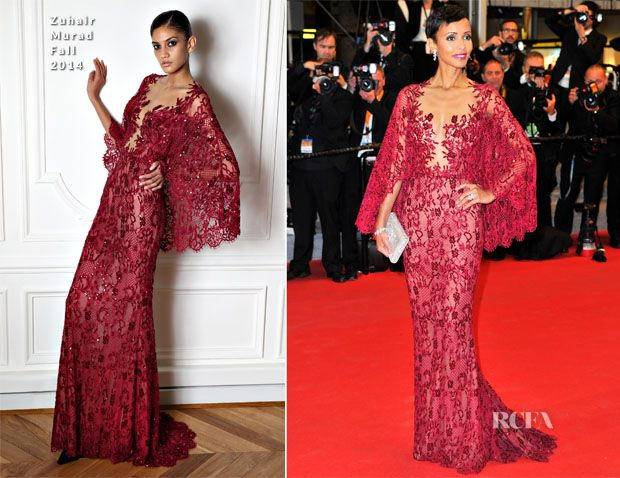 Sonia Rolland In Zuhair Murad – 'Timbuktu' Cannes Film Festival Premiere