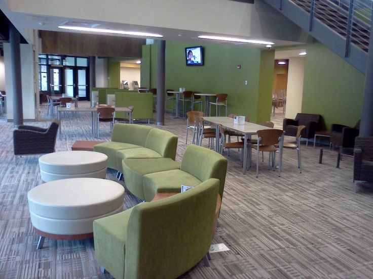 Mctc student lounge mixed seating library design pinterest library furniture - Library lounge chairs ...