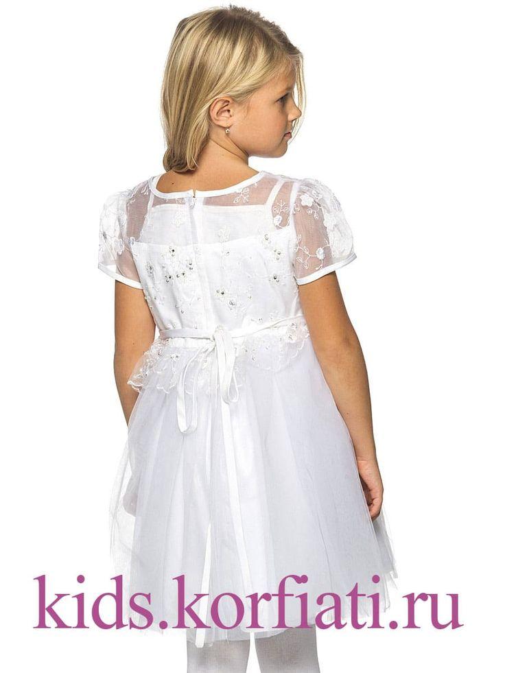 Новогоднее платье для девочки выкройка