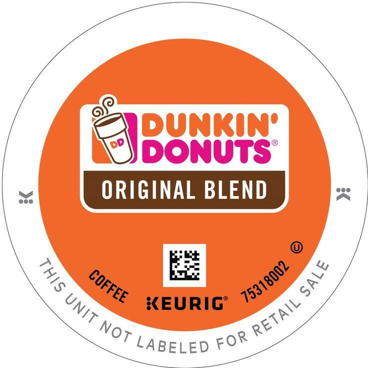 Dunkin donuts original blend keurig kcup coffee dunkin