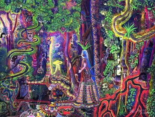 El arte visionario de Pablo Amaringo | marbal