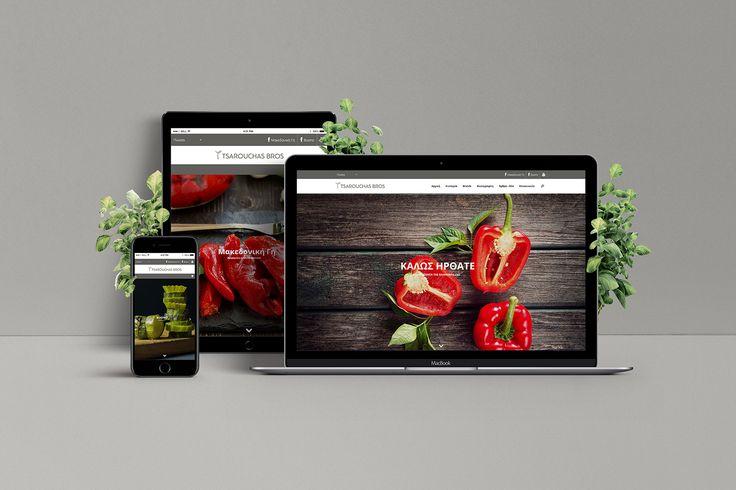 Σχεδιασμός ιστοσελίδας για την Tsarouchas Bros SA. Website: http://www.tsarouchas.eu  #webdesign #websitedesign #website #tsarouchas #tsarouchasbros #foxcreative #makedonikigi #μακεδονικηγη #buono