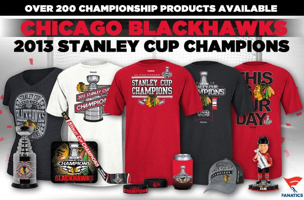 Lord Stanley's Cup is back in Chicago! The Hawks are Stanley Cup Champions! Shop Over 200 Stanley Cup Champs Items Here: http://pin.fanatics.com/NHL_Chicago_Blackhawks/source/pin-ladyscl-hawks-win-stanleycup-sclmp