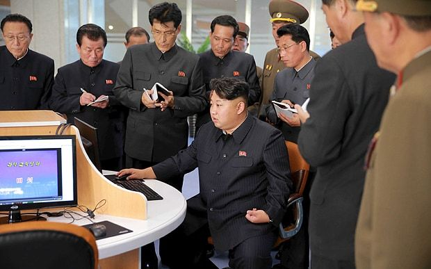 Kim Jong-un gives visiting the Sci-Tech Complex, in Pyongyang