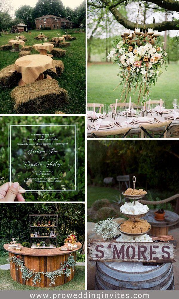 Outdoor Wedding Decoration Ideas In 2020 Outdoor Wedding Decorations Clear Wedding Invitations Fun Wedding Decor