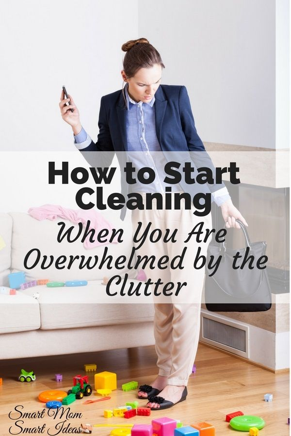 Are you struggling with clutter and you don't know where to start? Use this guide to help you start clearing the clutter today | How to start cleaning when you are overwhelmed by the clutter | home organization tips | home declutter | #declutter, #homeorganization via @smartmomideas