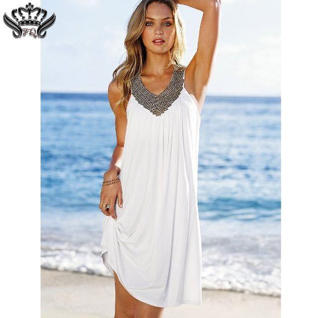 Sexy Party Dresses Women Evening Prom Club Dress Hollow Out Backless Summer Dress 2017 Vestido Casual Beach Dress Plus Size Boho
