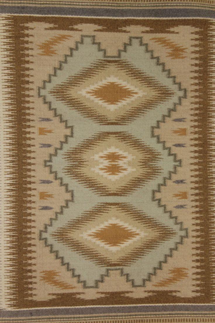 Navajo Rug 60. Description: Ca. 1970u0027s, Fine Pastel Burnt Water. Very