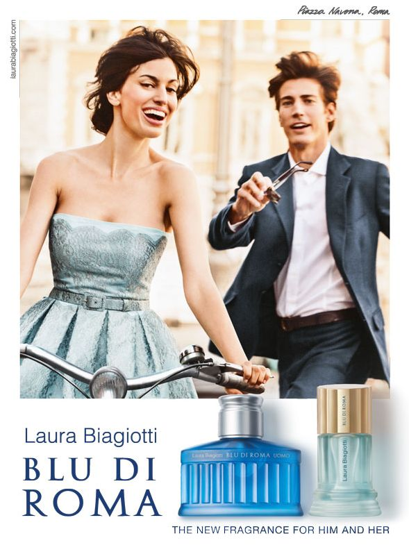 Laura Biagiotti, Blu di Roma Fragrances - Preview - Paperblog