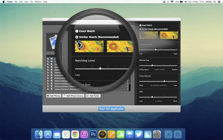 Duplicate Photos Fixer Pro sbarazzatevi delle fotografie doppie su Mac