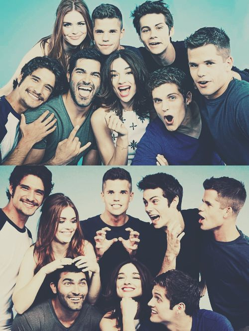 They're all beautiful people:p