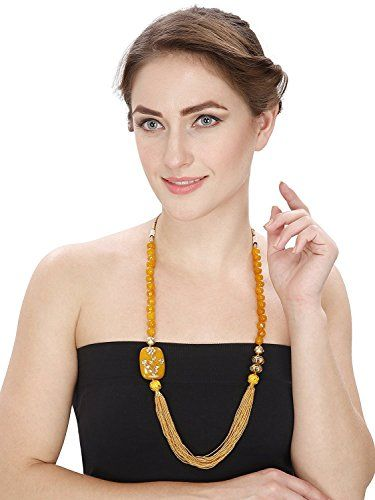 Indian Bollywood Fashion Necklace Yellow Pearl Beads Gold... https://www.amazon.com/dp/B06XVP1B78/ref=cm_sw_r_pi_dp_x_Sh52ybY58SQNH