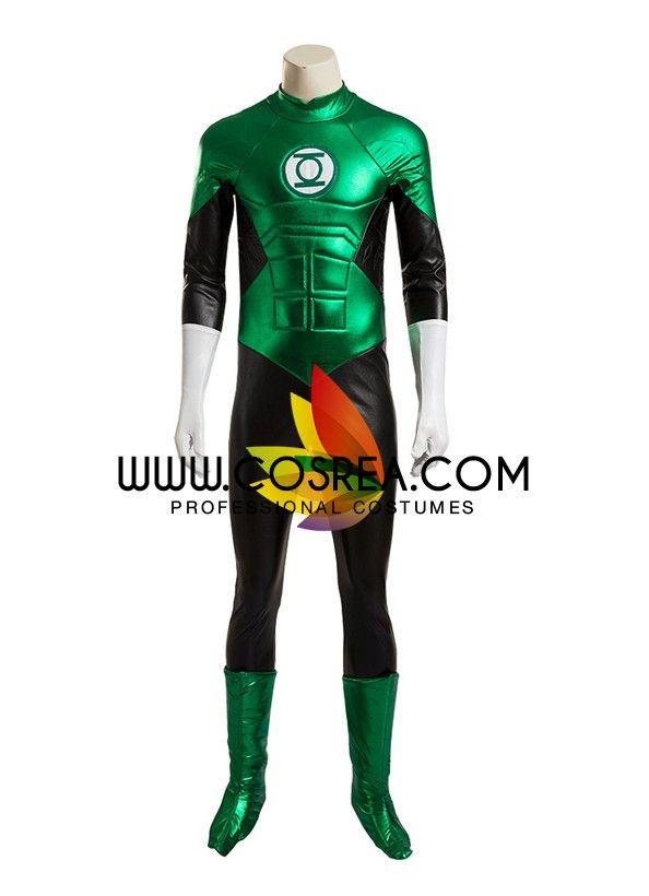 DC Green Lantern Complete Cosplay Costume