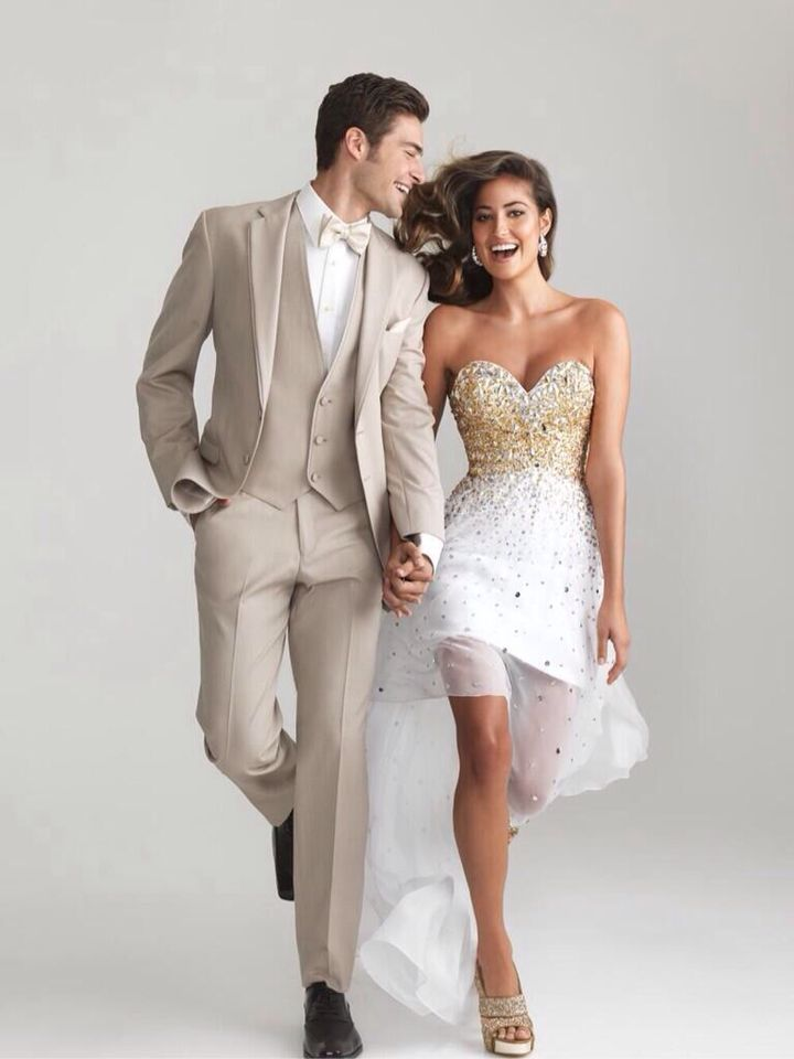 Love the khaki tux❤ | Prom | Pinterest | Khakis