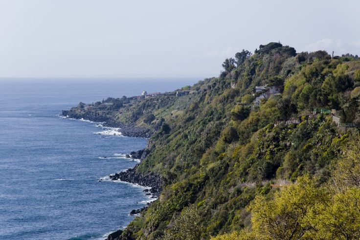 Landscape of Acireale, Sicily, Italy #sea #nature #sky