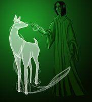 Snape's Patronus by Pen-umbra on deviantART