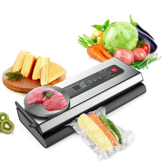 Solely US$120.35, store vacuum sealer machine with meals vacuum luggage packaging packs…