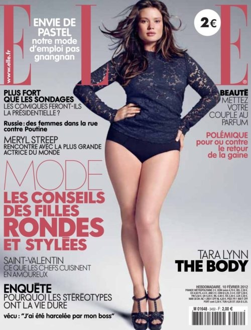 """Love Tara Lynn, she's plus sized and she rocks it. Karl Lagerfeld once called her """"fat"""", nevertheless, she has been walking the runways at  Fashion Weeks worldwide. You go girl!"""