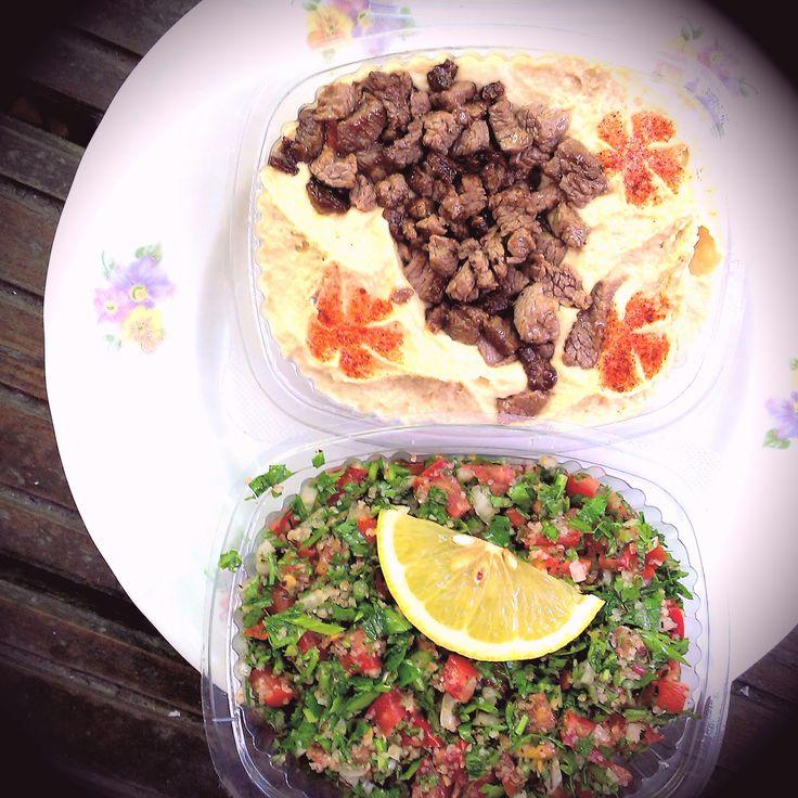 #beef #hummus #tabouleh #foodcoaching #beirut