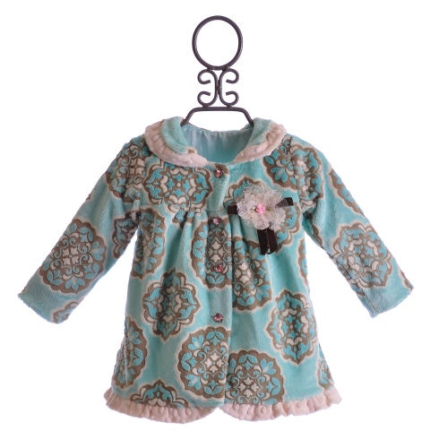 Haute Baby Little Girls Coat Tea at Tiffany's $64.00