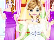 Free Online Girl Games, It's your friend's big day and you have to help her get ready for a dream wedding!  In Bride In Love Makeover, you must help the beautiful girl with a makeover so that she'll look her best for her future husband!  Help the young bride with her makeup and finding the perfect accessories!, #wedding #dress #dressup #girl #fashion #makeover #bride