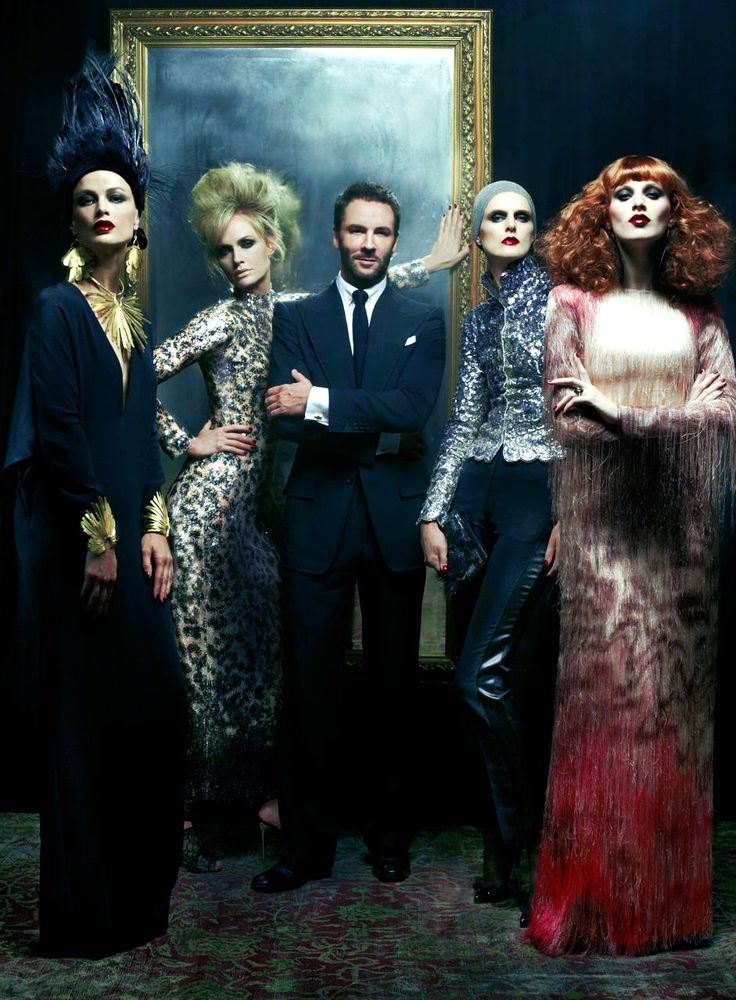 Tom Ford. and the ladies.