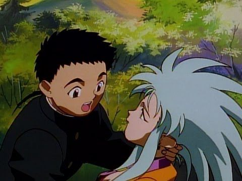 Tenchi Muyo! Tenchi Universe - 1 - No Need for Discussions! - Young Tenchi Masaki's life changes forever the day he stumbles upon the wreckage of a fallen spacecraft piloted by the beautiful space vixen Ryoko!