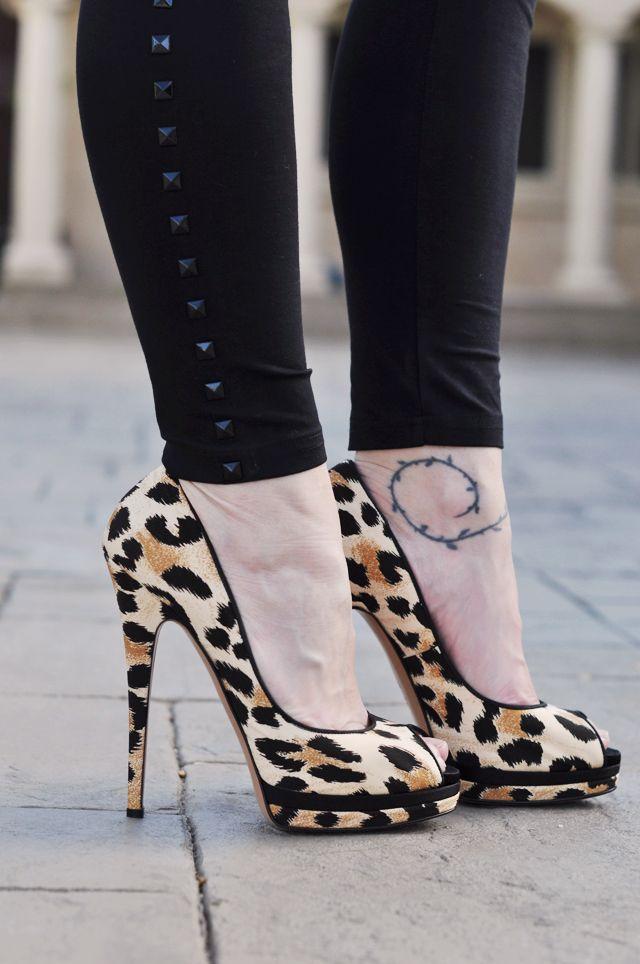 leopard stiletto love