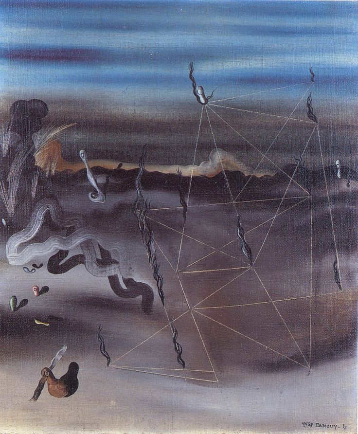 Yves Tanguy 1927 Title unknown Yves Tanguy Pinterest