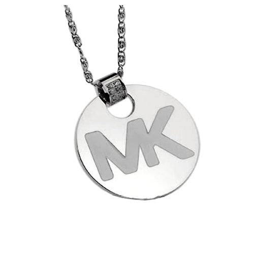 Fresh styles! Shop the latest sunglass trends. Michael Kors Big Logo Silver Necklaces-$8.99