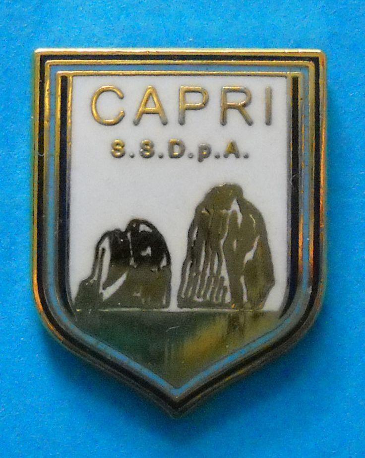 DISTINTIVO PIN - S.S. CAPRI CALCIO - cod. 7