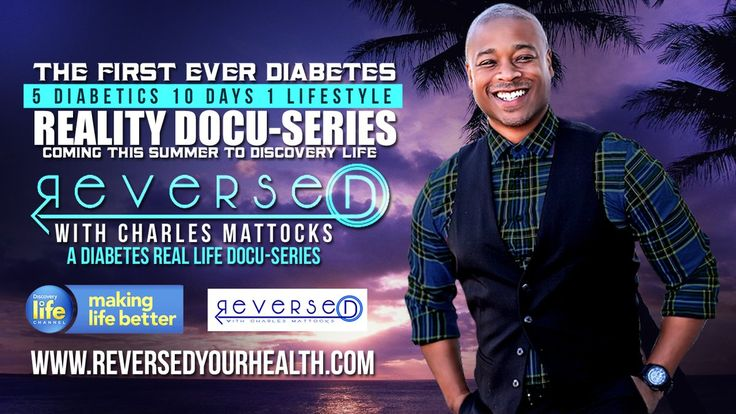 @CMattocks1 @rnash4308357 Many congratulations Charles and Team on the launch of your new TV show #Reversed - wishing you every success as you continue to raise #diabetes awareness.