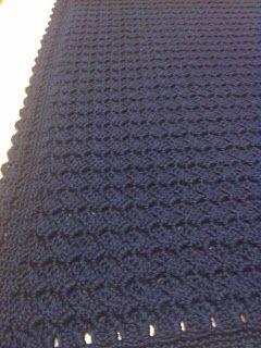 Tiny Pushes: Little Boy Blue: A blanket for Joshua-free crochet pattern