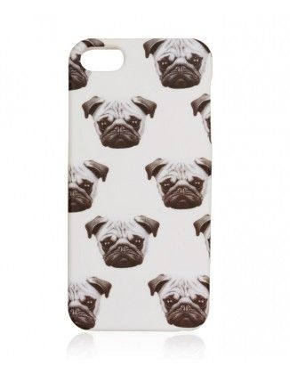 PUGS AND KISSES PHONE CASE 6