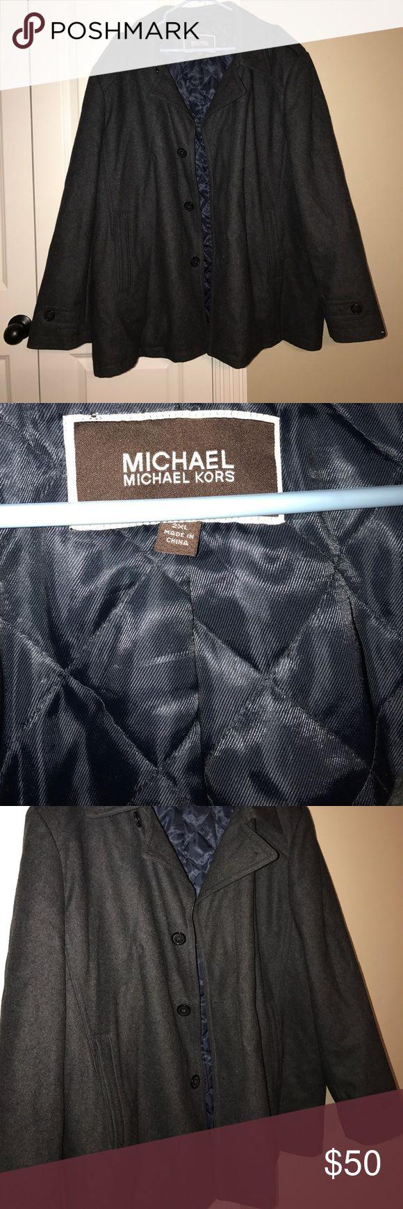 Men's Michael Kors heavy coat -2XL Great condition- MICHAEL Michael Kors Jackets & Coats Pea Coats