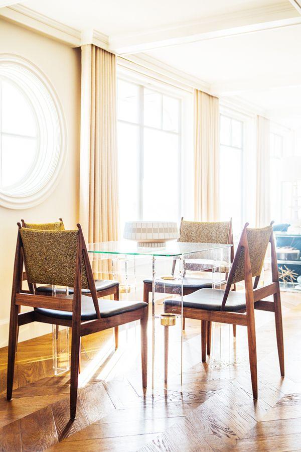 megan tagliaferri dining room shot by laure joliet | via coco+kelley