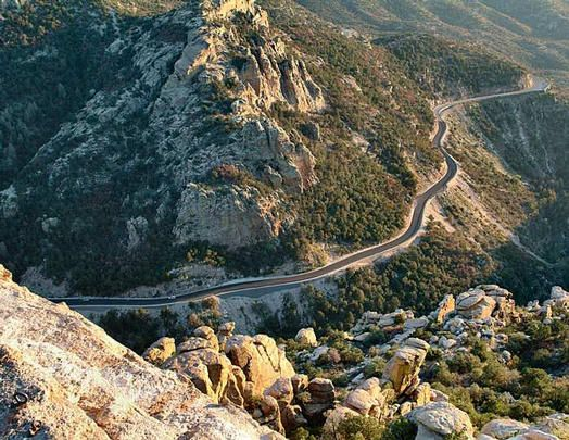 Mount Lemmon Highway - Tucson, Arizona Awesome views.