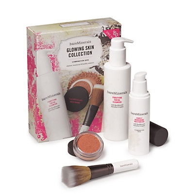 Bare Minerals   sale $39  Glowing Skin Collection Combination Skin