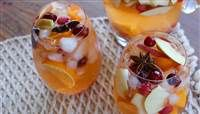 Thanksgiving sangria for a crowd is basically a party in your mouth