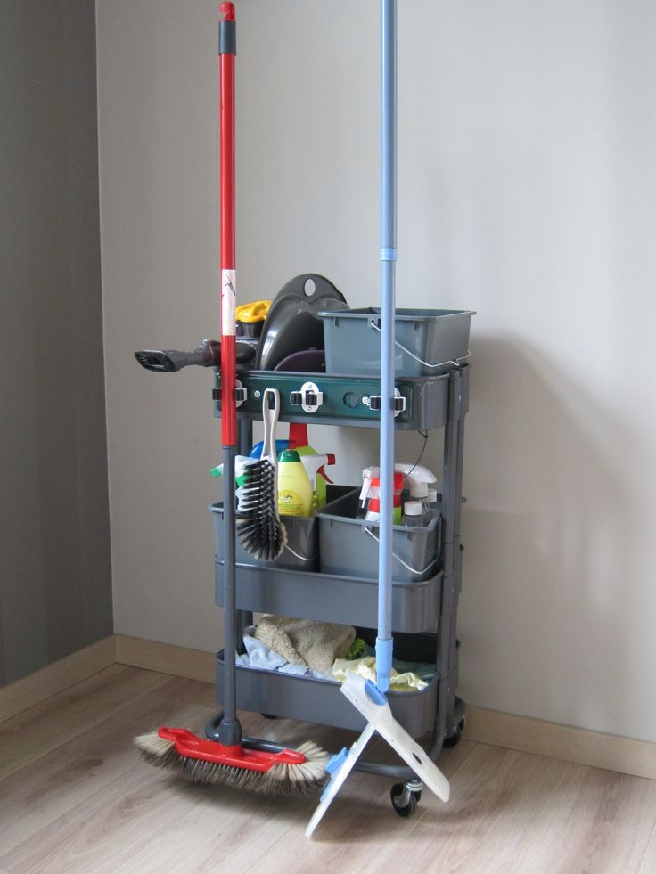 Ikea raskog cart It's perfect to make your house cleaning easier.